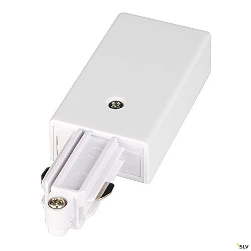 SLV 1 Phasen System Einspeiser für 1-Phasen HV-Stromschiene / weiß