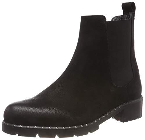 Fersengold Damen 298-345 Chelsea Boots, Schwarz (Schwarz 001), 37 EU