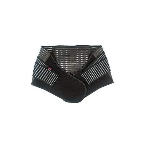 Verstellbarer Doppelter Rückwärtiger Gürtel, Verstellbarer Bund Elastisch, Breiter Schutz für Heben Arbeit Fitnessstudio XXL