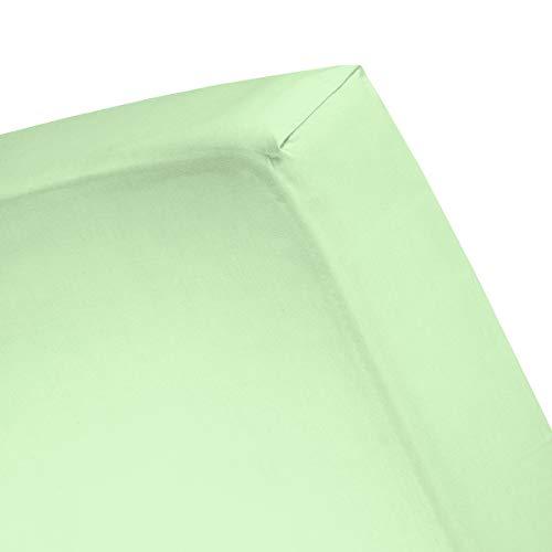 Damai hoeslaken Double Jersey Lits-jumeaux XL s.green (tot 25 cm)