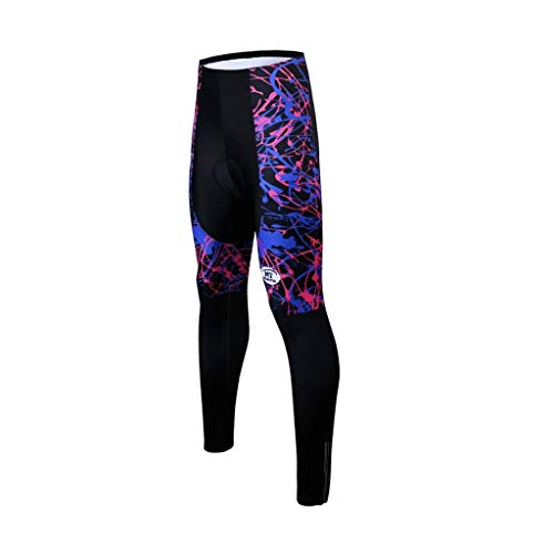 DIAOD Women Cycling Trousers Quick-Dry Mountain Bicycle Cycling Pants Shockproof Cycling Tights with 3D Gel Padded (Size : Medium)
