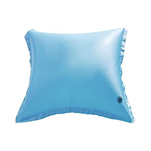 Almohada de piscina de invierno, almohada de invierno para cubierta de piscina sobre el suelo, actualiza resistente al frío PVC grueso almohada piscina accesorios