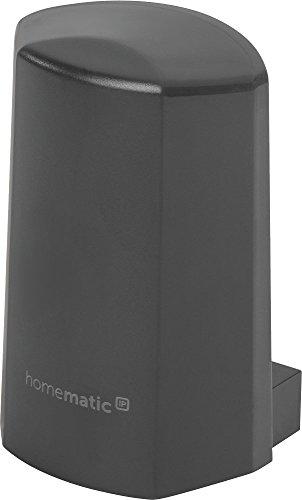 Homematic IP Temperatur- und Luftfeuchtigkeitssensor – außen, anthrazit, 150574A0