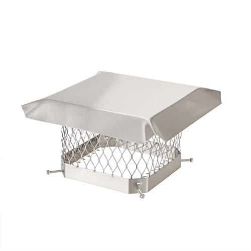 stainless steel rain cap - 2