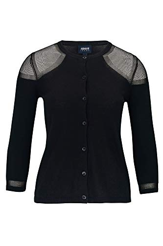 Armani Jeans Strickjacke, Farbe:schwarz, Größe:40