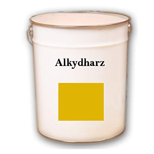 Hauptversand24 5kg RAL 1023 Verkehrsgelb gelb seidenglänzend Fassadenfarbe Fassadenlack Fassadenbeschichtung