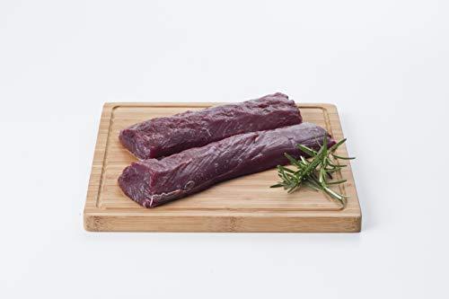 鹿肉 背ロース 600g ココ鹿 脂肪のない綺麗な赤身 ロースト ステーキ