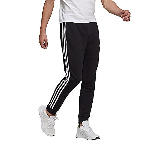 adidas GK8831 M 3S FT TC PT Pantaloni Sportivi Uomo Black/White S