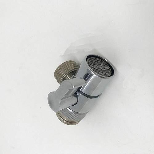 Hot Koop Gepolijst Chroom Messing Omstelling voor Gootsteen Kraan Vervanging Deel Badkamer Douchebak Kraan Uitloop M22 X M24 Clear
