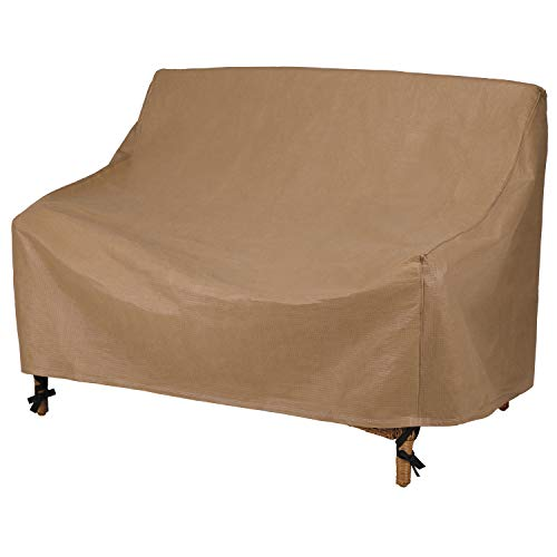 Duck Covers Essential Water-Resistant 54 Inch Patio Loveseat Cover