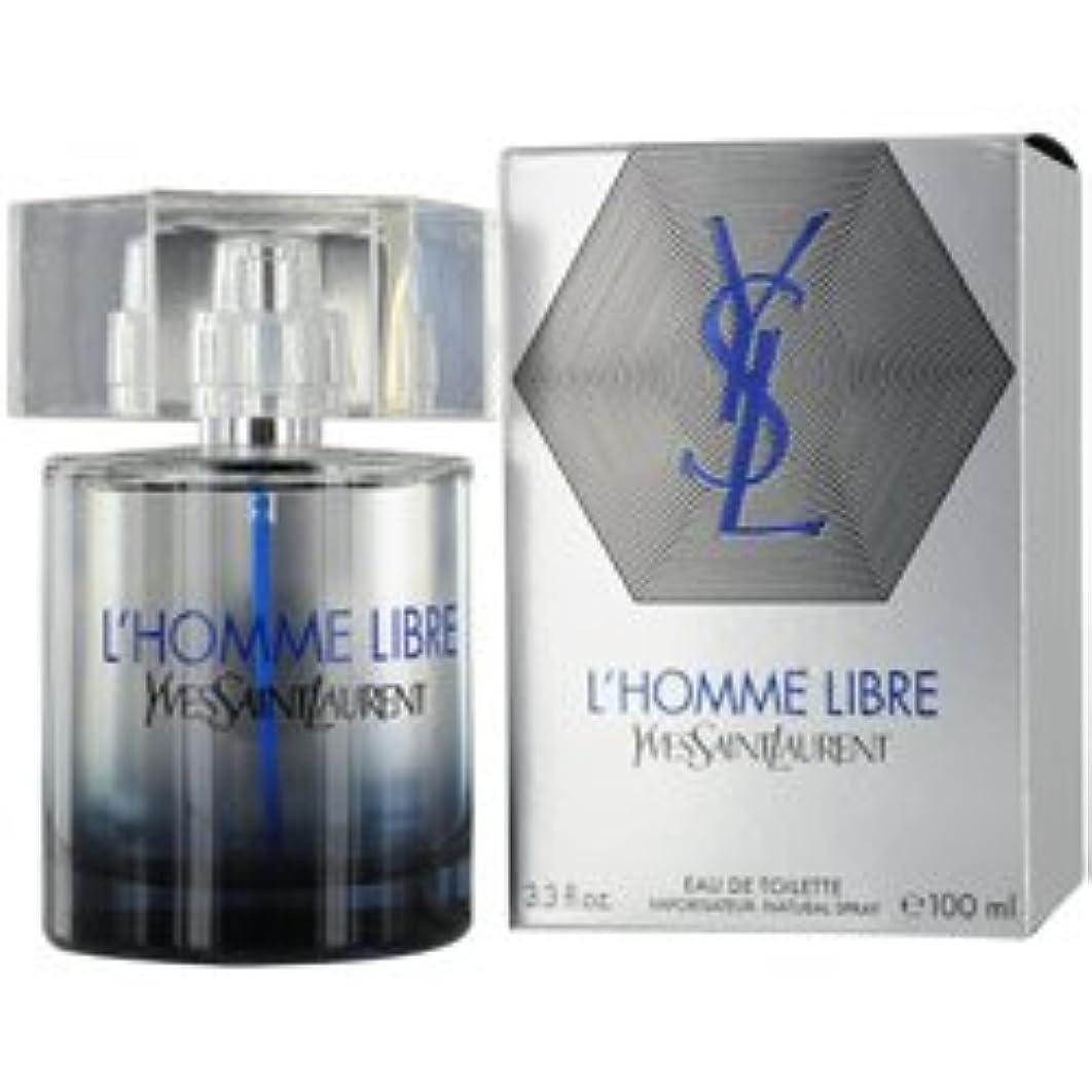 L'HOMME LIBRE by Yves Saint Laurent EDT SPRAY 3.3 OZ & FREE ALL OVER SHOWER GEL 3.3 OZ (TRAVEL OFFER)