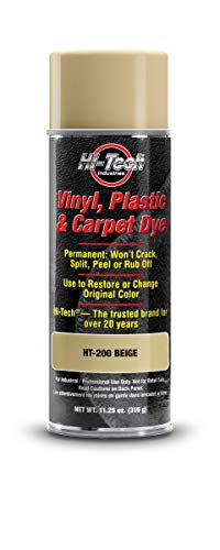Vinyl Plastic Carpet & Leather Dye | Beige