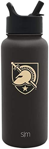 Simple Modern NCAA Army Golden Knights 32oz Water Bottle with Straw Lid Insulated Stainless product image