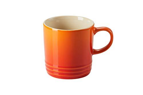 Le Creuset Stoneware Mug, 350 ml, Volcanic Orange