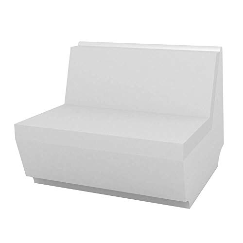 Vondom Rest módulo sofa central blanco