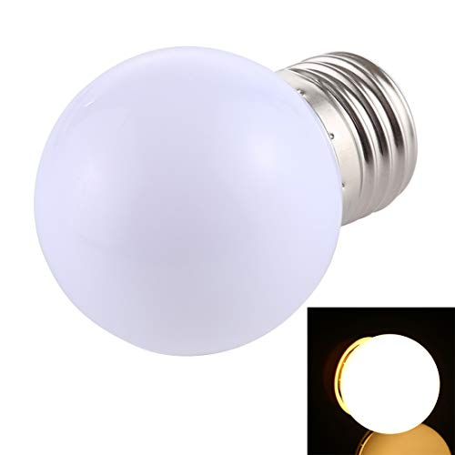 Lichte Bulbs 2W E27 2835 SMD Home Decoration LED-lampen, DC 12V (Wit Licht) LED-lampen (Color : Warm White)