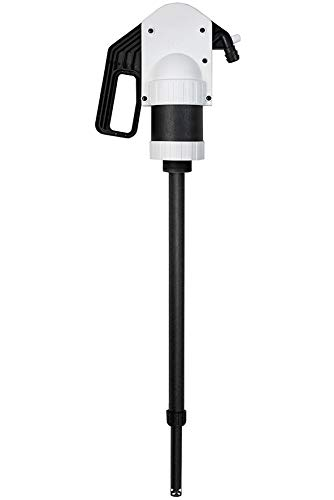 Samoa-Hallbauer Profi-Handpumpe HP-05/25-200 ÖL; leichte Fasspumpe; gebogener Fassadapter; Polypropylen - 300009