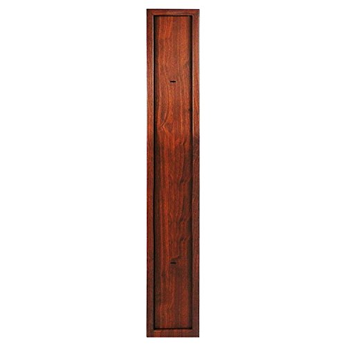 dirty pro tools™ 3 GUN CABINET IN WOOD EFFECT FINISH WITH BUILT IN AMMUNITION SAFE SHOTGUN RIFLE