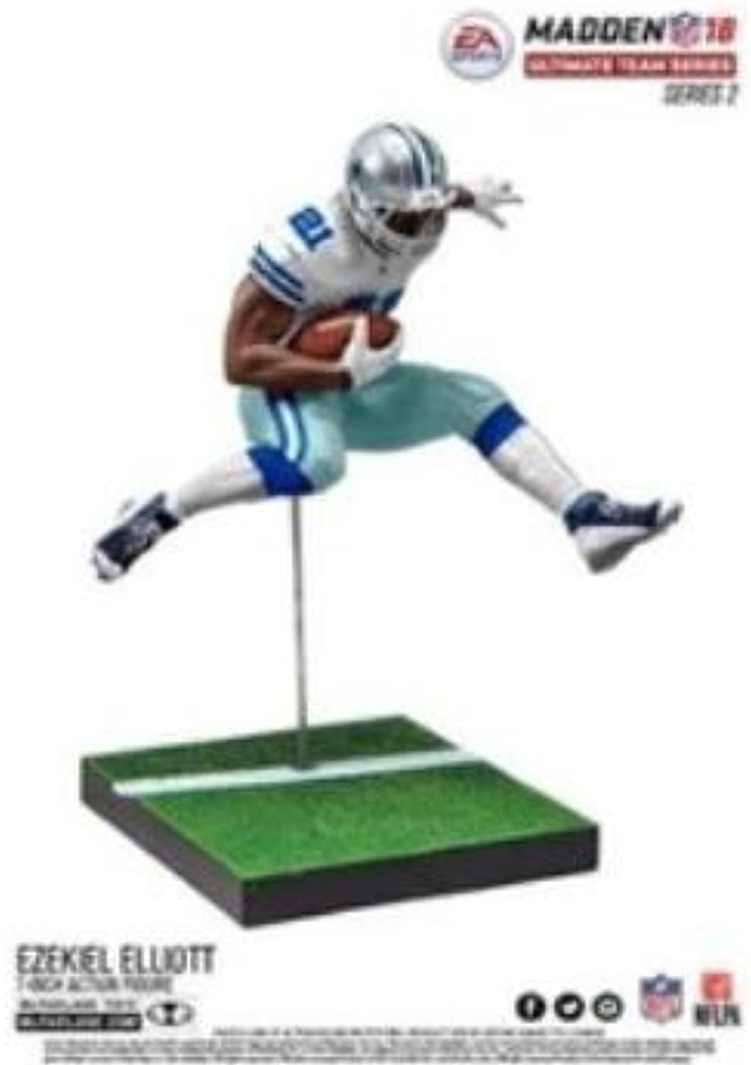 McFARLANE MADDEN 18 ULTIMATE TEAM SERIES 2 EZEKIEL ELLIOTT FIGURE DALLAS COWBOYS