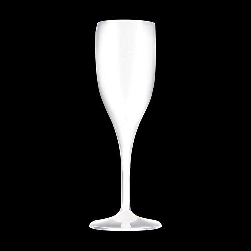 Champán Cristal higiénicas vasos, color blanco (6x taza Pro unidad)