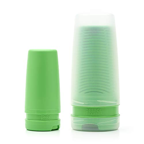 BALIBETOV Premium Yerba Mate Dust Remover I Mate Gourd Cup Accessory Reduces Bitterness and Acidity I Sugar Container Included (Kelly Green)