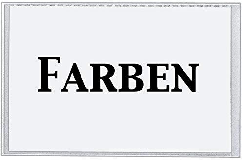 Preisvergleich Produktbild VELOFLEX 2202000 Beschriftungsfenster selbstklebend,  40 x 64 mm,  PP-Folie,  inkl. Kartoneinlagen