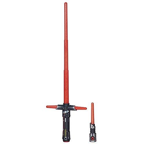 Star Wars - Sable electrónico Kylo REN, Color Rojo (Hasbro B2948EU4)