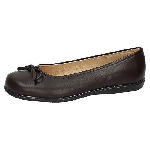 Angelitos 465, Mädchen Mokkasins, Braun - Schokoladenbraun - Größe: 35 EU