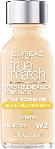 Base Liquida L´oreal True Match Super-blendable Warm - Light Ivory W2