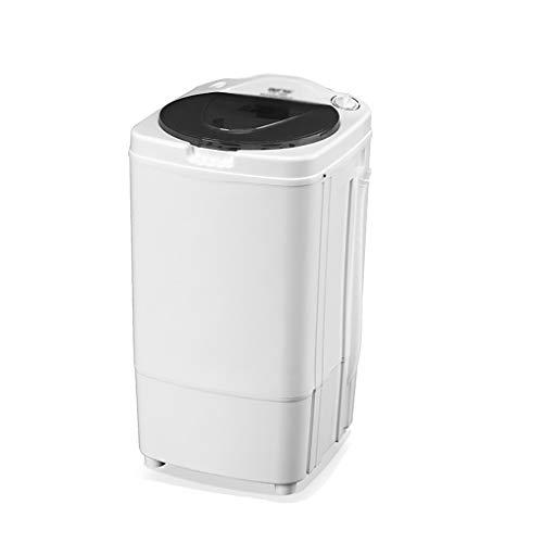 YXWxyj Lavadoras 2 en 1 portátil Lavadora semiautomática, Compacto lavandería Lavadora/Spinner con la Bomba de Drenaje, Nivel Ajustable de Agua for el apartamento, hogar, Hotel, Dormitorio