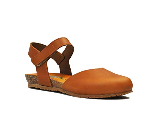 BioNatura Sandalo Pelle Gaucho col.Brandy 68C2081 (Numeric_38)