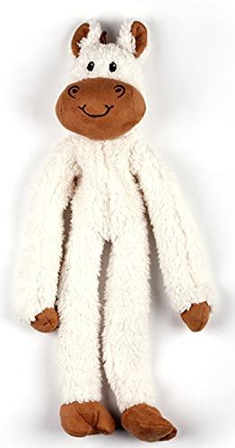 ALL FOR PAWS Jouet en peluche pour chien en laine d'agneau - Cuddle Ropey Floppers - Cheval