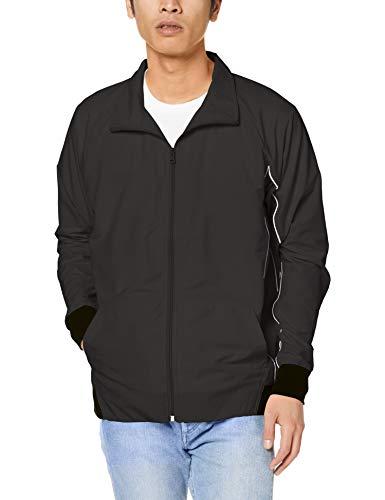 [インプローブス] ナイロンジャケット ナイロンパイピングスタンドトラックジャケット メンズ ブラック/ホワイト L