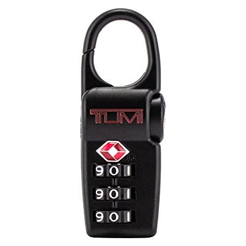 [ トゥミ ] TUMI TSA ロック 鍵 南京錠 ダイヤル式 ブラック Black 旅行 ダイヤルロック スーツケース バッグ トラベル 小物 062DH / 100799-1041 TSA Lock ACCESSORIES [並行輸入品]