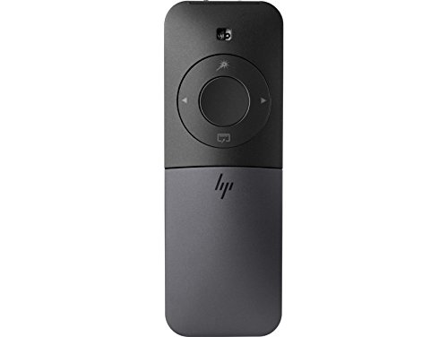 HP Elite Presenter - Presentador de Diapositivas y ratón (Bluetooth, Micro USB, Puntero láser, cursor, batería Recargable) Color Negro