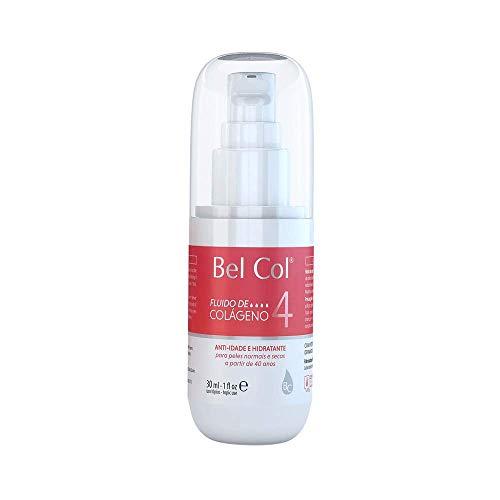 Bel Col Fluido Colágeno Facial 4 Hidratação Anti-Idade 20ml