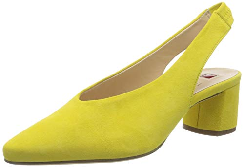 HÖGL Urbana, Scarpe col Tacco con Cinturino Dietro la Caviglia Donna, Verde Lime 8400, 37 EU