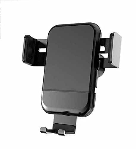 MRTYU-UY Soporte inalámbrico para cargador de coche, 10 W 7.5 W, carga rápida, soporte para teléfono para iPhone 11 Xs Max XR 8 Plus Samsung S10 S9 S8