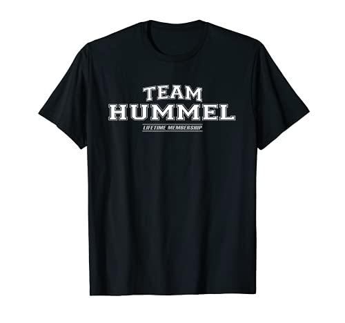 Team Hummel   Apellido Familiar Orgulloso, Apellido Camiseta