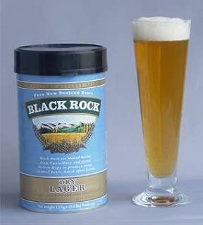 手作りビールキット ブラックロック ドライラガー(缶単体、イースト付、オリジナル説明書添付)