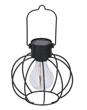 Lantaarn op zonne-energie voor buiten om op te hangen, tuin lantaarn op zonne-energie, LED-lamp voor buiten, tuindecoratie, tuinlantaarn, 3 kleuren, zwart zilver koper