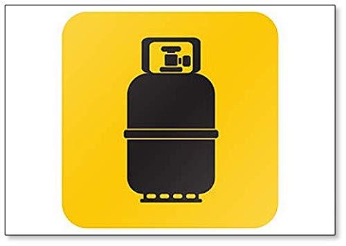 Camping Gas Fles Classic Koelkast Magneet