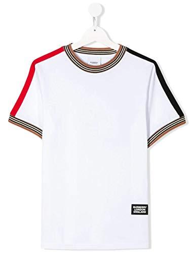 Luxury Fashion | Burberry Jongens 8022251 Wit Katoen T-shirts | Lente-zomer 20