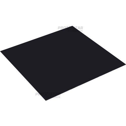 proxistar Acrylplatte 75x75cm schwarz
