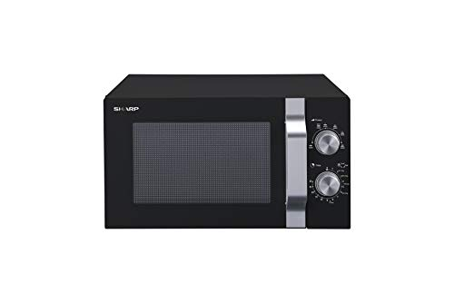 Sharp R204BA Solo-Mikrowelle,20 L,800...