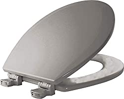 Bemis 500EC062 Molded Wood Round Toilet Seat