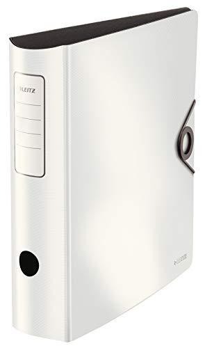 Leitz Leitz 10471001 Qualitäts-Ordner, Weiß, 82mm Bild