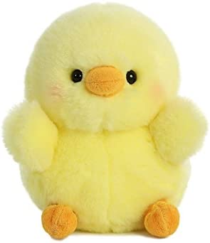 Chicken with knife plush _image0