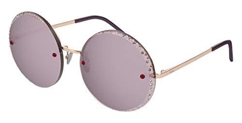 Pomellato Occhiali da sole PM0060S // 006-gold-gold-pink