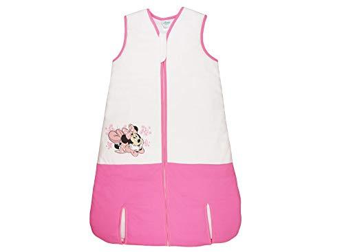Mädchen Baby-Kinder-Schlafsack mit Minnie Mouse von Disney GEFÜTTERT in GRÖSSE 92, 98, 104, 110, 116, 122, 128, 134, 140, TOG 3 WARM Bettwäsche Größe 92
